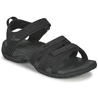 Schuhe Damen Sandalen / Sandaletten Teva TIRRA Schwarz