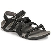 Schuhe Damen Sandalen / Sandaletten Teva ASCONA SPORT WEB Schwarz