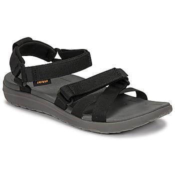 Schuhe Damen Sandalen / Sandaletten Teva SANBORN MIA Schwarz