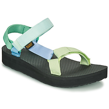 Schuhe Damen Sandalen / Sandaletten Teva MIDFORM UNIVERSAL Grün
