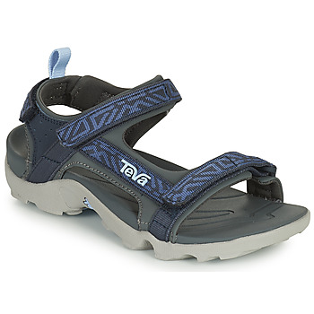 Schuhe Jungen Sandalen / Sandaletten Teva TANZA Blau