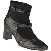 Schuhe Damen Stiefel Lei By Tessamino Stiefelette Stella Farbe: schwarz schwarz