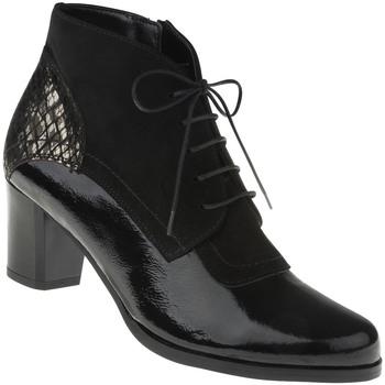 Schuhe Damen Stiefel Lei By Tessamino Stiefelette Luana Farbe: schwarz schwarz