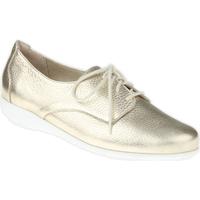 Schuhe Damen Derby-Schuhe Natural Feet Schnürer Sandra Farbe: gold gold