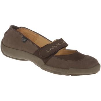 Schuhe Damen Sneaker Binom Kletter Lydia Farbe: braun braun