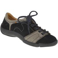 Schuhe Damen Sneaker Binom Schnürer Mina Farbe: grau grau