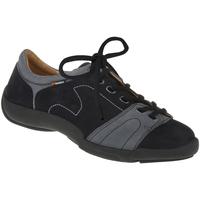 Schuhe Damen Sneaker Binom Schnürer Mina Farbe: blau blau
