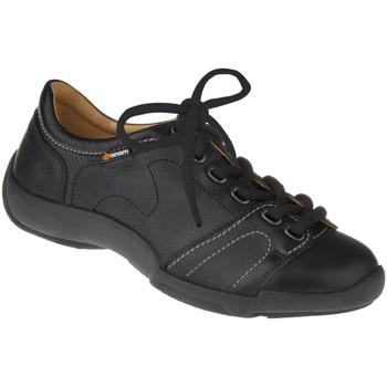 Schuhe Damen Sneaker Binom Schnürer Mina Farbe: schwarz schwarz