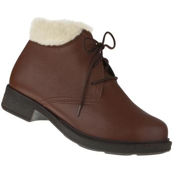 Schuhe Damen Stiefel Natural Feet Stiefelette Sinja Farbe: braun braun