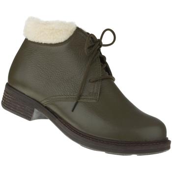 Schuhe Damen Stiefel Natural Feet Stiefelette Sinja Farbe: grün grün