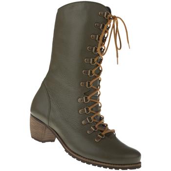 Schuhe Damen Stiefel Natural Feet Stiefel Livigno Farbe: grün grün