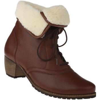 Schuhe Damen Schneestiefel Natural Feet Stiefelette Ista Farbe: braun braun