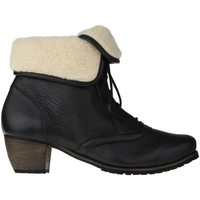Schuhe Damen Schneestiefel Natural Feet Stiefelette Ista Farbe: schwarz schwarz