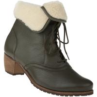Schuhe Damen Schneestiefel Natural Feet Stiefelette Ista Farbe: grün grün