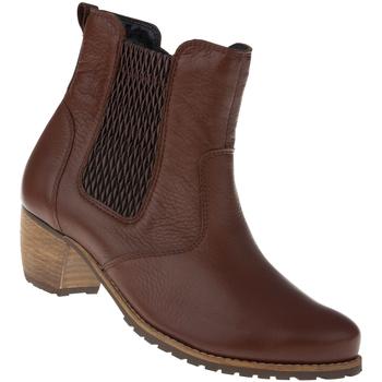 Schuhe Damen Stiefel Natural Feet Stiefelette Yuki Farbe: braun braun