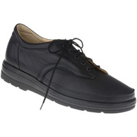 Schuhe Damen Sneaker Natural Feet Schnürer Paris Farbe: schwarz schwarz