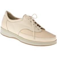 Schuhe Damen Sneaker Natural Feet Schnürer Paris XL Farbe: beige beige