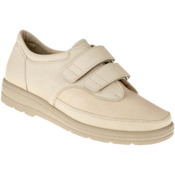 Schuhe Damen Richelieu Natural Feet Kletter Göteborg Farbe: beige beige