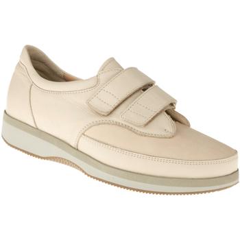 Schuhe Damen Richelieu Natural Feet Kletter Göteborg XL Farbe: beige beige