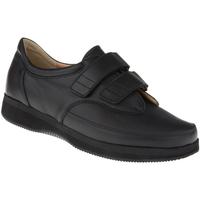 Schuhe Damen Richelieu Natural Feet Kletter Göteborg XL Farbe: schwarz schwarz