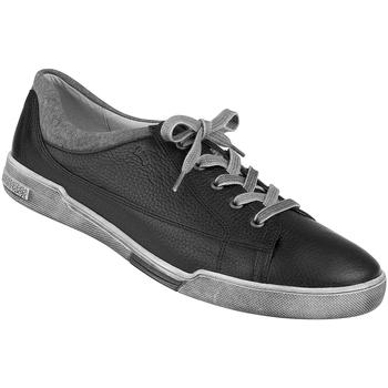 Schuhe Herren Sneaker Natural Feet Schnürer Dallas Farbe: schwarz schwarz