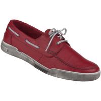 Schuhe Herren Sneaker Natural Feet Schnürer Torino Farbe: rot rot