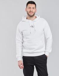Kleidung Herren Sweatshirts Calvin Klein Jeans NEW ICONIC ESSENTIAL HOODIE Weiss