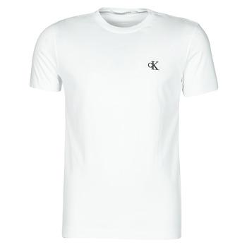 Kleidung Herren T-Shirts Calvin Klein Jeans YAF Weiss