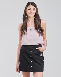 Kleidung Damen Tops / Blusen Calvin Klein Jeans MONOGRAM CAMI TOP Rose