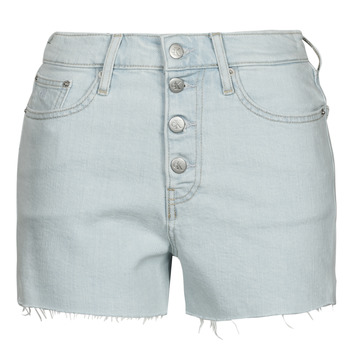 Kleidung Damen Shorts / Bermudas Calvin Klein Jeans HIGH RISE SHORT Blau
