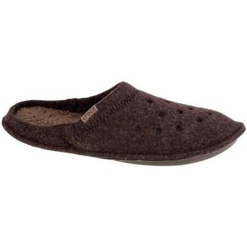 Schuhe Herren Hausschuhe Crocs Classic Slipper Braun