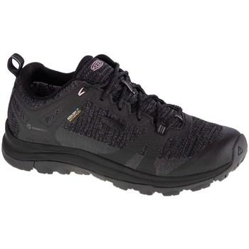 Schuhe Damen Wanderschuhe Keen W Terradora II WP Schwarz