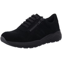Schuhe Damen Sneaker Low Solidus Schnuerschuhe Kea  Stretch 66501-01018 K schwarz