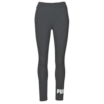 Kleidung Damen Leggings Puma ESS LOGO LEGGING Grau