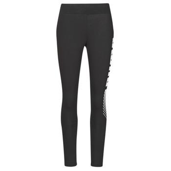 Kleidung Damen Leggings Puma ESS+ GRAPHIC LEGGING Schwarz