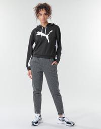 Kleidung Damen Jogginghosen Puma Evostripe Pants Grau / Schwarz