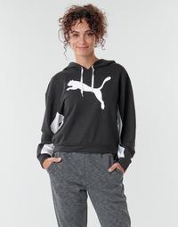 Kleidung Damen Sweatshirts Puma Modern Sports Hoodie Schwarz