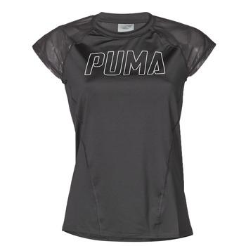 Kleidung Damen T-Shirts Puma WMN TRAINING TEE F Schwarz