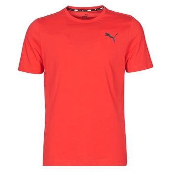 Kleidung Herren T-Shirts Puma ESS TEE Rot