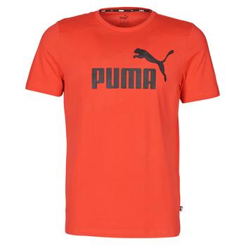 Kleidung Herren T-Shirts Puma ESSENTIAL TEE Rot