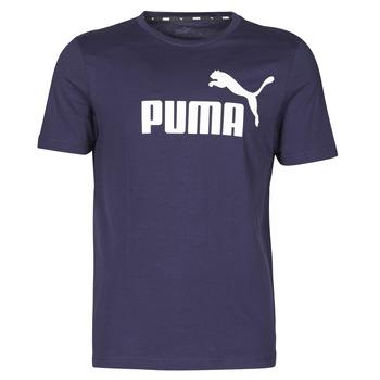 Kleidung Herren T-Shirts Puma ESSENTIAL TEE Marine