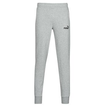 Kleidung Herren Jogginghosen Puma ESS LOGO SLIM PANT LOGO FL CL Grau
