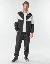 Kleidung Herren Jogginganzüge Puma Woven Suit CL Schwarz / Weiss