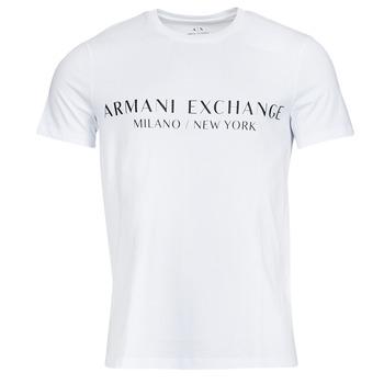 Kleidung Herren T-Shirts Armani Exchange 8NZT72-Z8H4Z Weiss