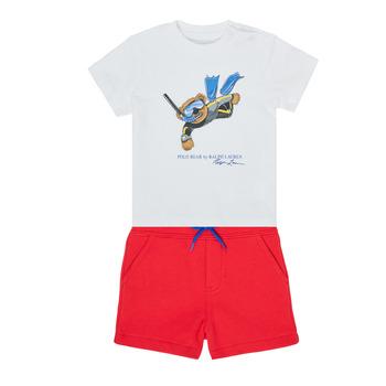 Kleidung Jungen Kleider & Outfits Polo Ralph Lauren SOULA Multicolor
