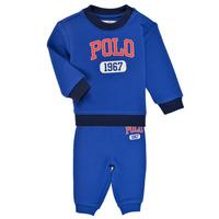 Kleidung Jungen Kleider & Outfits Polo Ralph Lauren NOELLE Blau
