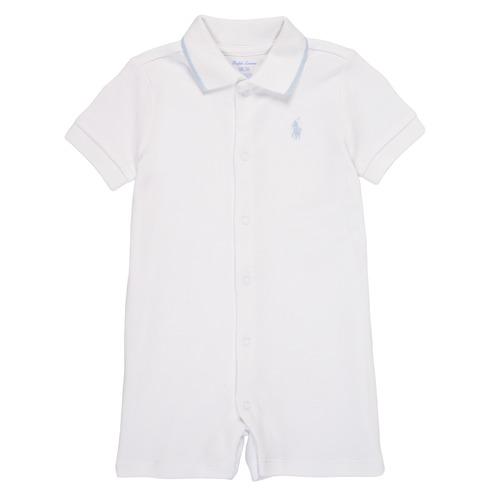Kleidung Jungen Overalls / Latzhosen Polo Ralph Lauren TONNY Weiss