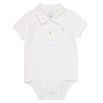 Kleidung Jungen Pyjamas/ Nachthemden Polo Ralph Lauren NOUVEL Weiss
