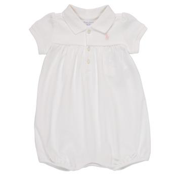 Kleidung Mädchen Overalls / Latzhosen Polo Ralph Lauren SIMONE Weiss