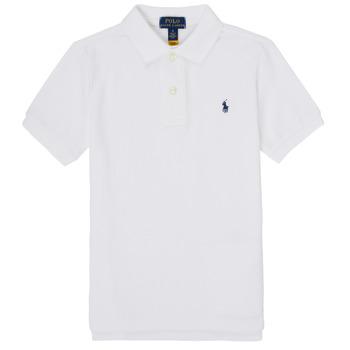 Kleidung Jungen Polohemden Polo Ralph Lauren TUSSA Weiss